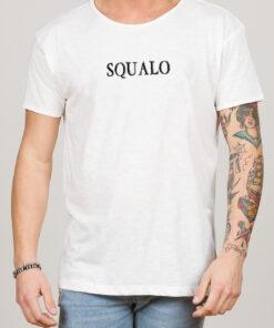 T-shirt SQUALO bianca Bellavita Style