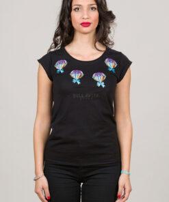 T-shirt Mongolfiere BELLAVITA style donna
